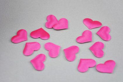 3D-Herz 20 x 15 mm, pink