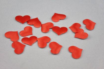 3D-Herz 20 x 15 mm, rot