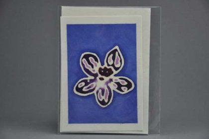 Geschenkekarte Motiv - Blüte