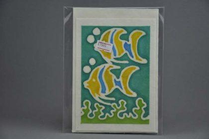 Geschenkekarte Motiv - Fische