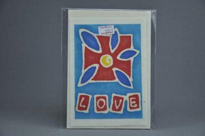 Geschenkekarte Motiv - Love