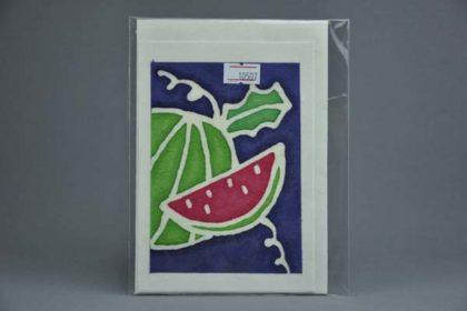 Geschenkekarte Motiv - Melone