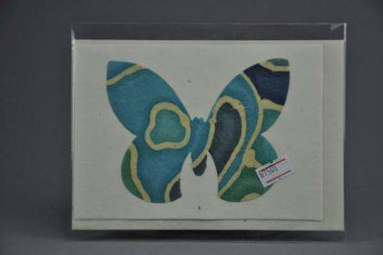 Geschenkekarte Motiv - Schmetterling