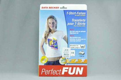 11 x A4-T-Shirt-Folien für helle Textilien