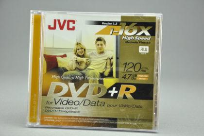 JVC DVD+R 120min, 4.7 GB, 1-16x