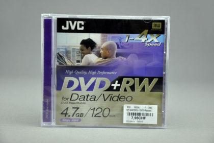 JVC DVD+RW 120min, 4.7 GB, 1-4x