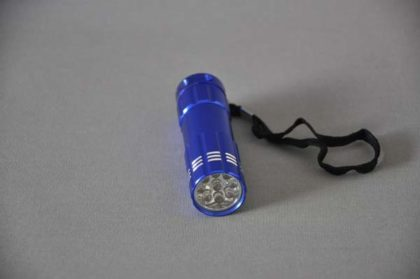 """LED-Taschenlampe """"Powerful"""", blau"""