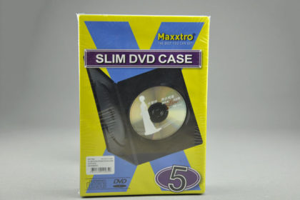 Maxxtro Slim DVD Case - 5 Stück