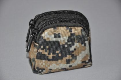 Military Tasche mit Gürtelschlaufe, Woodland Digital