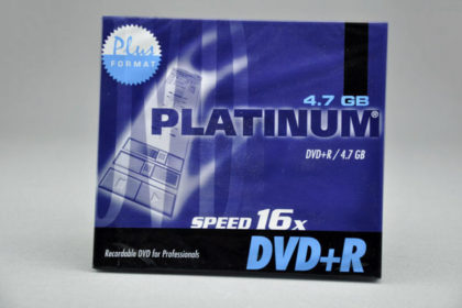 Platinum DVD+R 4.7 GB, 1-16x
