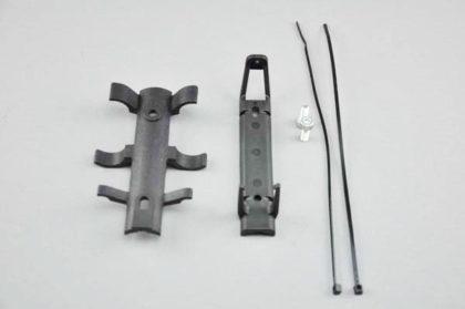 Simson Pannengarnitur - Halterung für die Pannenpumpe und 2 CO2-Patronen