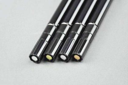 4 x Faller Metallic-Lackstift - zur Colorierung von diversen Bastelmaterialien
