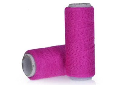 200m Polyester Faden zum Basteln, Nähen uvm., pink