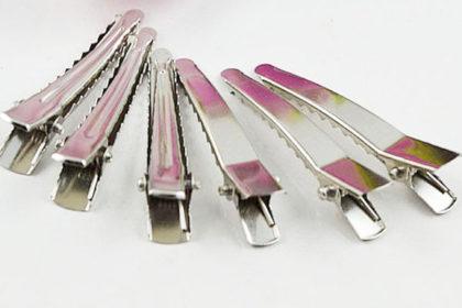 2 x Metall-Haar-Klammer 45mm