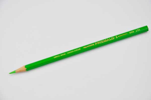 CARAN D\'ACHE Farbstift Prismalo, hellgrün – Elektronik • Haushalt ...