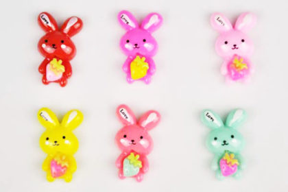 Resin-Hase 15 x 25 mm, vers. Farben