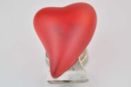 Splash Magnet-Herz mit Klemme