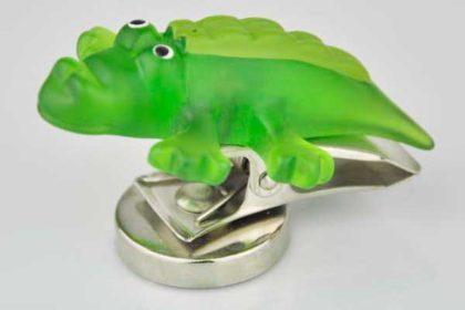 Splash Magnet-Krokodil mit Klemme