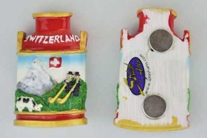 Splash Magnet-Milchkanne SWITZERLAND