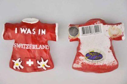 Splash Magnet-T-Shirt I WAS IN SWITZERLANDSplash Magnet-T-Shirt I WAS IN SWITZERLAND