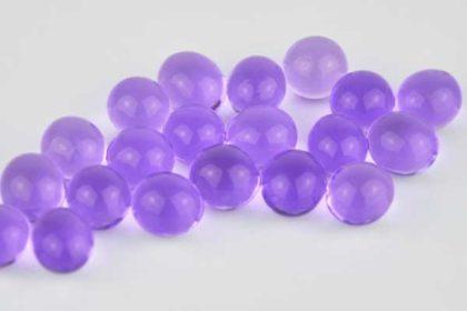 100 Stück Wasserkugeln / Wasserperlen, violett