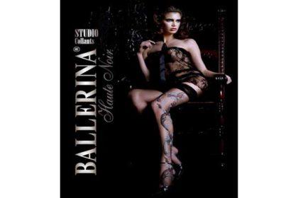 Ballerina Strumpfhose ARABELLA schwarz, L/XL