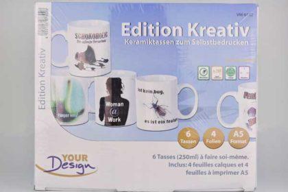 Edition Kreativ - Keramiktassen zum Selbstbedrucken
