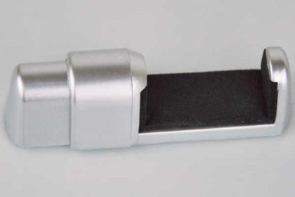 Handy-Halterung von 33 - 44 mm ausziehbar, silber