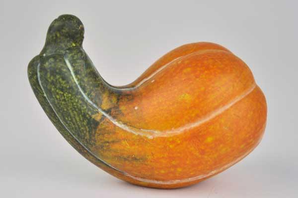 Kleiner Kürbis, 8 x 5 x 6 cm