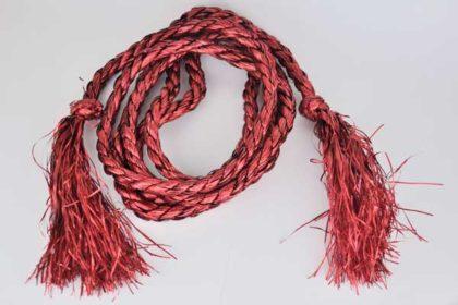 Kordel 270 cm, rot