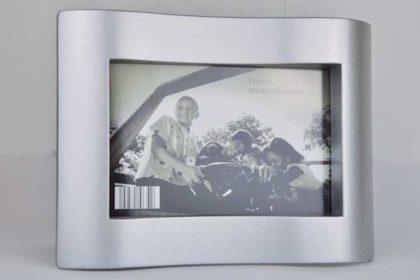 Metall-Bilderrahmen Format 10 x 15 cm, silber