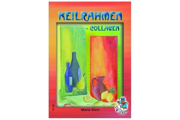 Bücherzauber: Keilrahmen - Collagen
