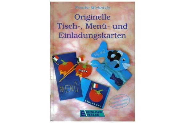 Englisch Verlag: Originelle Tisch-, Menu- und Einladungskarten