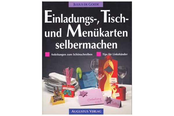 Augustus Verlag - Einladungs-,Tisch- und Menükarten selbermachen