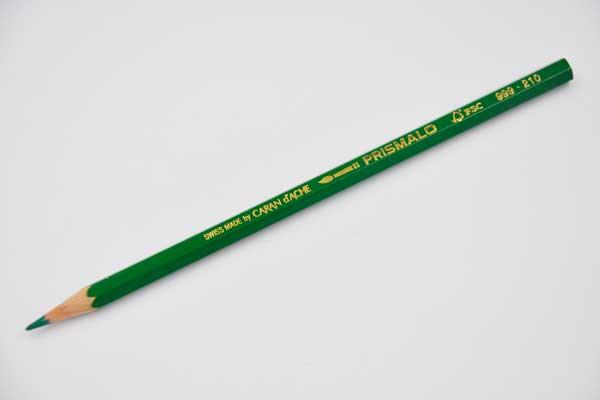 CARAN D\'ACHE Farbstift Prismalo, smaragdgrün – Elektronik • Haushalt ...