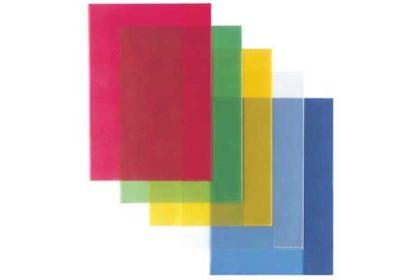 Lerlitz - 5 x Hefthüllen A5, farbig sortiert