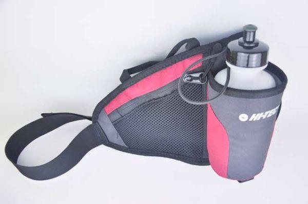 Hitech Hüfttasche mit Trinkflasche und Fach für Smartphone oder Geld