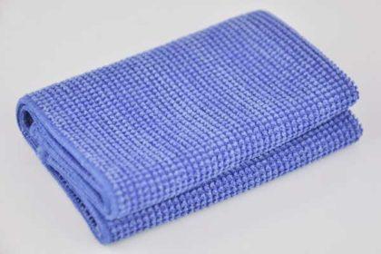 Microfaser-Tüchlein für LCD und Plasma, blau