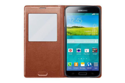 Samsung GALAXY S5 S View Cover, rose gold