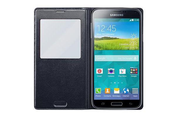 Samsung GALAXY S5 S View Cover, schwarz