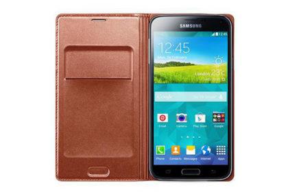 Samsung GALAXY S5 Flip Wallet, rose gold