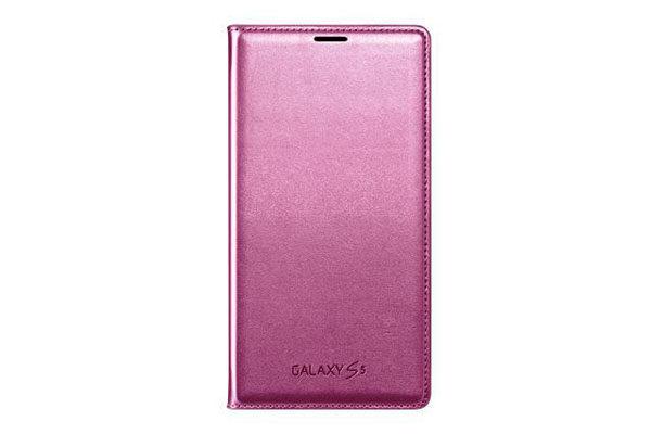 Samsung GALAXY S5 Flip Wallet, pink