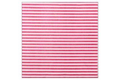 Serviette 2-lagig 33x33 cm, pink-weiss gestreift