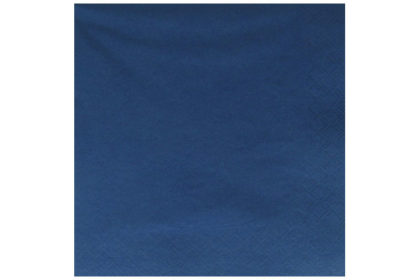 Serviette 3-lagig 33 x 33 cm, dunkelblau