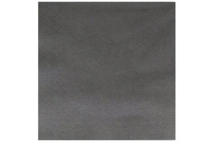 Serviette 3-lagig 33 x 33 cm, grau