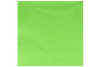 Serviette 3-lagig 33 x 33 cm, grün
