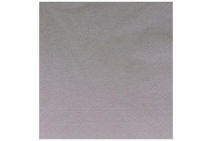 Serviette 3-lagig 33 x 33 cm, hellbraun