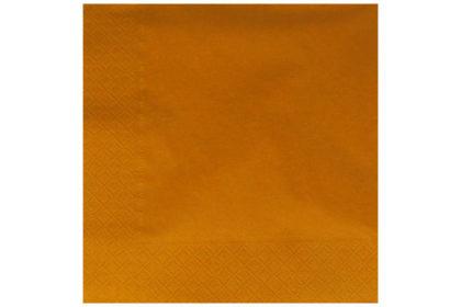 Serviette 3-lagig 33 x 33 cm, orange