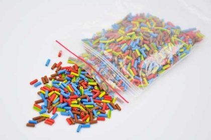 Beutel Elektrokabel-Enden für Bastelarbeiten