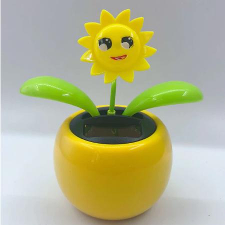 Solar-Tanzen-Blume-Lustige-Geschenk-Sonnenblume
